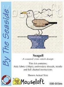 Mouseloft Seagull By The Seaside cross stitch kit